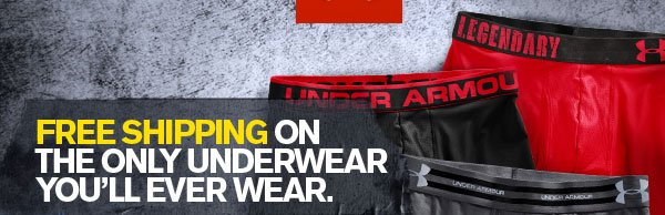 FREE SHIPPING ON THE ONLY UNDERWEAR YOU'LL EVER WEAR