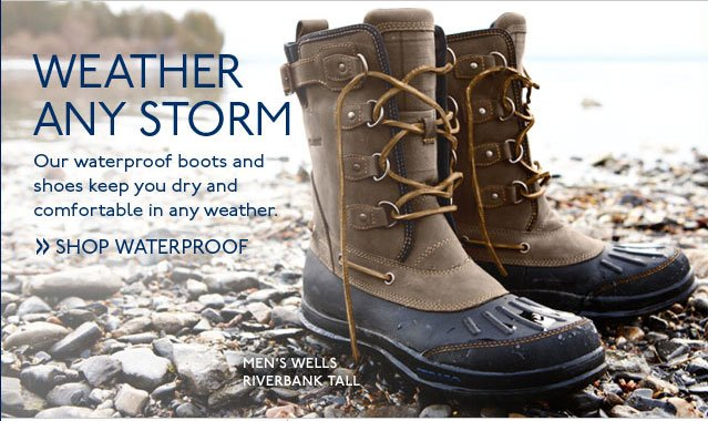 Weather Any Storm Shop Waterproof