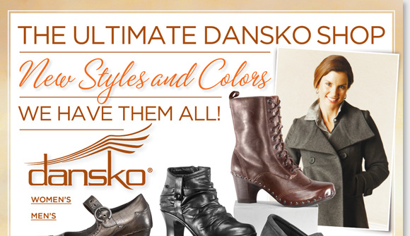 Shop the NEW Dansko arrivals including exclusive Pink Ribbon 'Summer', 'Red Leaf' Professional, and ProXP 'Brown Roses.' We have them ALL for women and men! Plus, shop the 99 & under Fall Shoe Sale and save on Dansko, UGG Australia, Raffini, MBT, Sierra West and more! Find the best selection now at The Walking Company.
