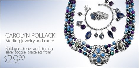Carolyn Pollack Sterling Jewelry and More