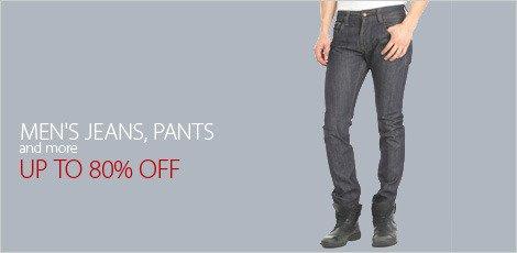 Men's Jeans, Pants & more