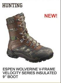 """Espen Wolverine V-Frame Velocity Series Insulated 9"""""""