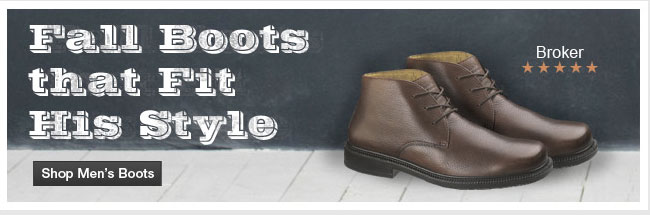 Fall Boots That Fit His Style