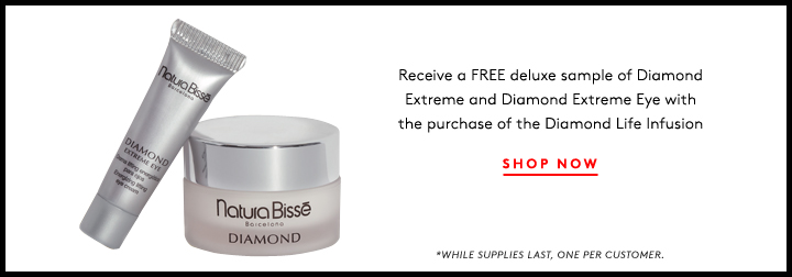 Get the glow: Shop Natura Bissé and score FREE Diamond Extreme and Diamond Extreme Eye samples!