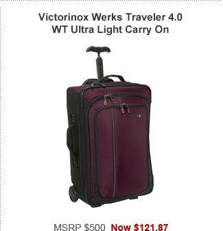 Victorinox Werks Traveler 4.0 WT Ultra Light Carry On