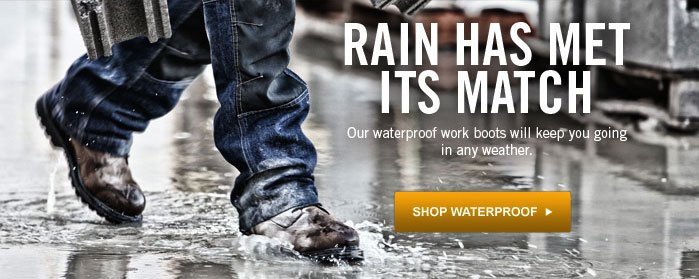 Rain Has Met Its Match