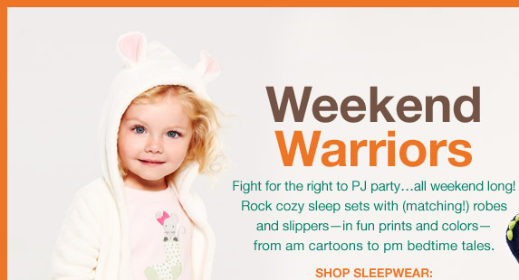 Weekend Warriors | SHOP SLEEPWEAR