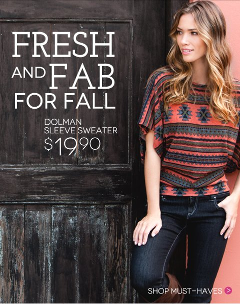 Fresh and Fab for Fall + Shop the $7 Scarf Sale + FREE SHIPPING with promo code OCTFREE. Ends October 21
