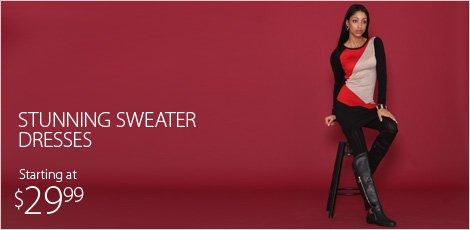 Stunning Sweaters Dresses