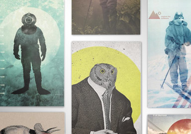 Shop Eclectic & Colorful Posters