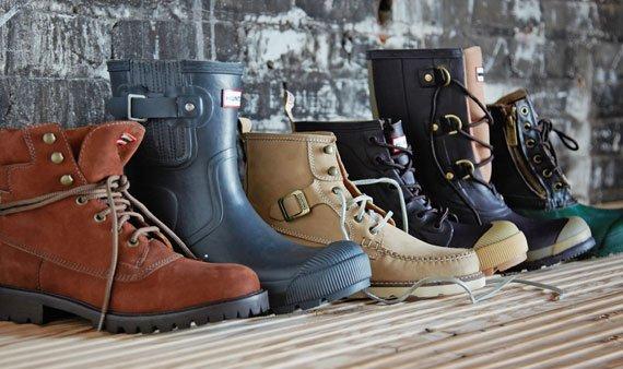 Hunter Shoes- Visit Event