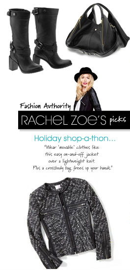 Fashion Autority RACHEL ZOE'S picks