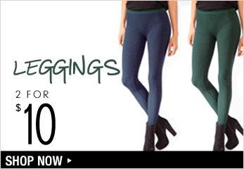 2 for $10 Leggings - Shop Now