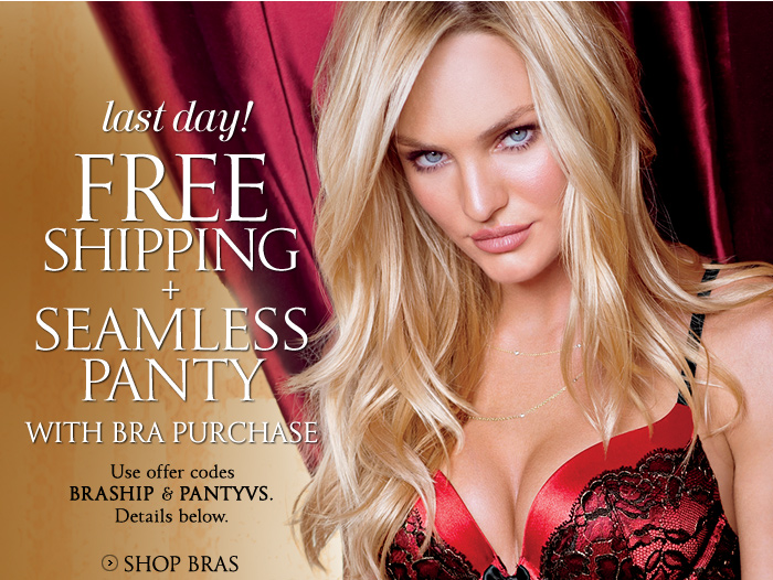 Last Day! Free Shipping + Seamless Panty