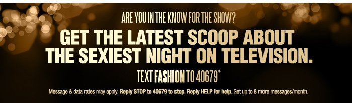 Get the Latest Scoop About the Sexiest Night on Television