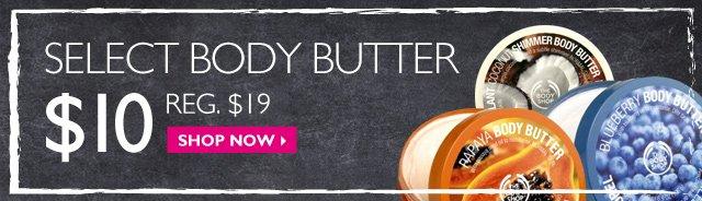 Select Body Butter - $10 Reg $19 - shop now