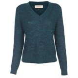 Paul Smith Knitwear - Melange Chunky Knit V-Neck Jumper