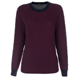 Paul Smith Knitwear - Colour Block Cable Knit Jumper