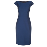 Paul Smith Dresses - Indigo Blue Capped Sleeve Shift Dress