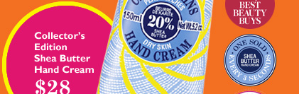 Collector's Edition Shea Butter Hand Cream