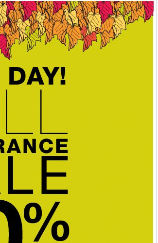 Last Day to shop our Fall Clearance Sale + LAST DAY to use this coupon and Save!