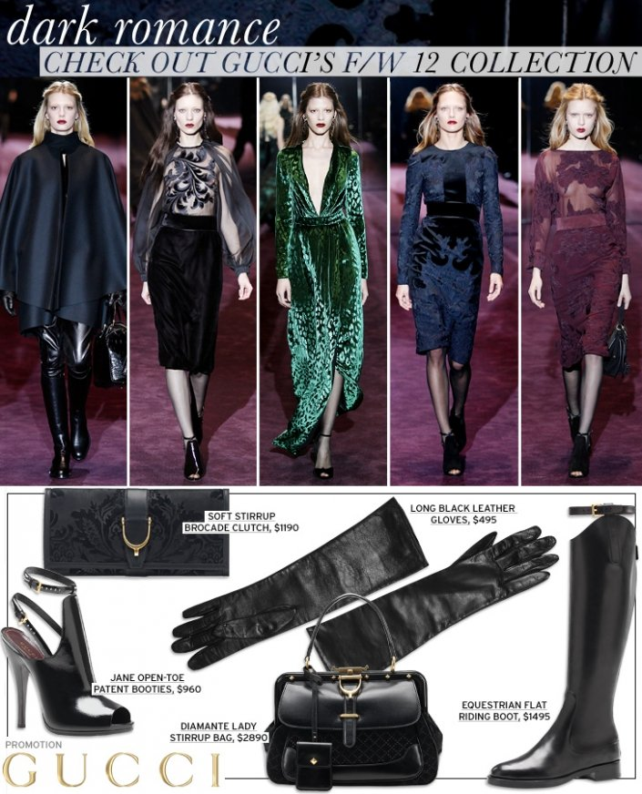 Check It Out: Gucci's F/W 12 Collection