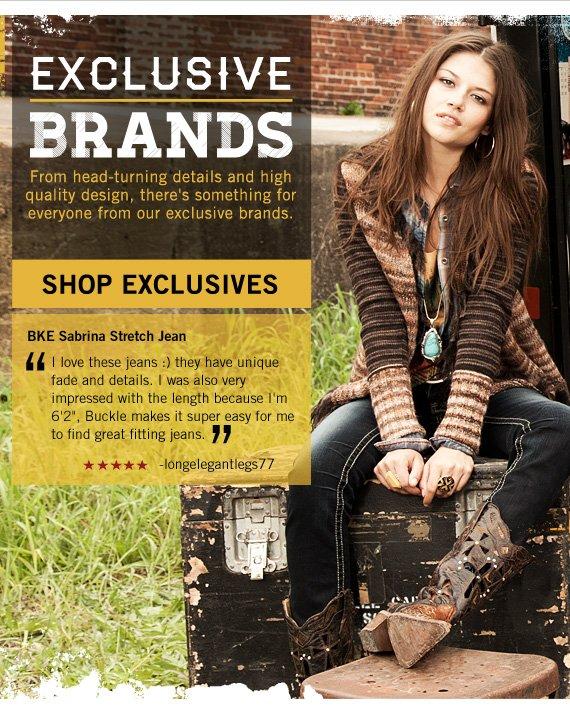 Shop Women's Exclusive Brands