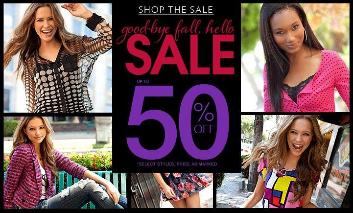 Shop The 50% OFF SALE!