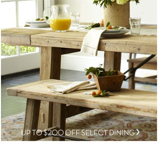 UP TO $200 OFF SELECT DINING