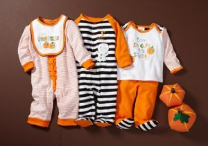 Witches, Pumpkins & Monsters: Baby Costumes