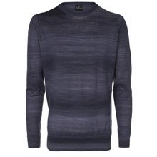 Paul Smith Knitwear - Navy Space Dyed Jumper