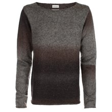Paul Smith Knitwear - Brown And Grey Dip-Dyed Jumper