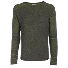 Paul Smith Knitwear - Grey Neon Based Jumper