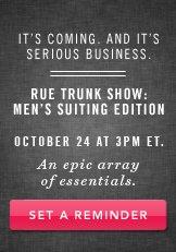 Rue Trunk Show. Shop Now.
