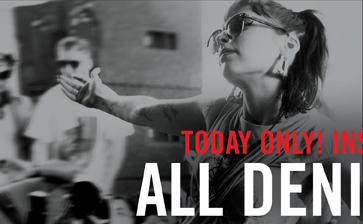 TODAY ONLY! INSTORE & ONLINE. ALL DENIM $29.50**