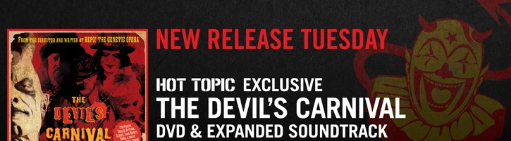 NEW RELEASE TUESDAY: THE DEVIL'S CARNIVAL
