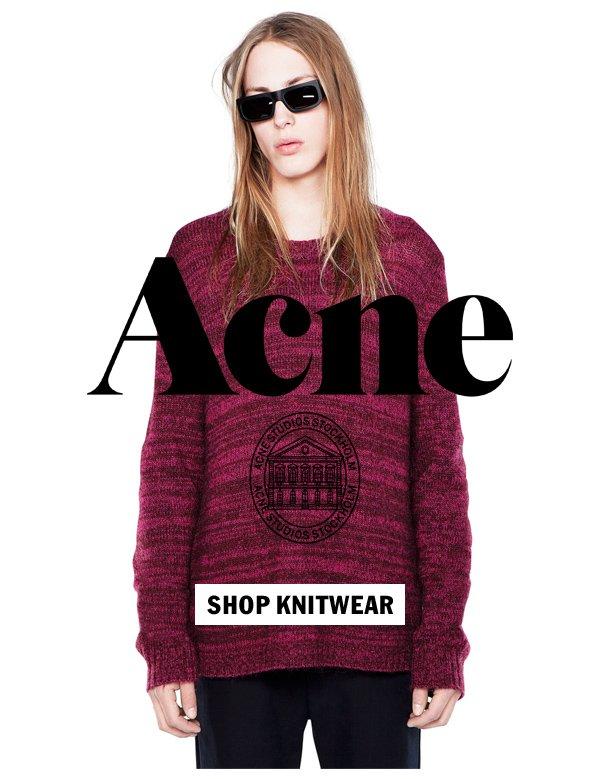Acne Studios Fall 2012 Knitwear