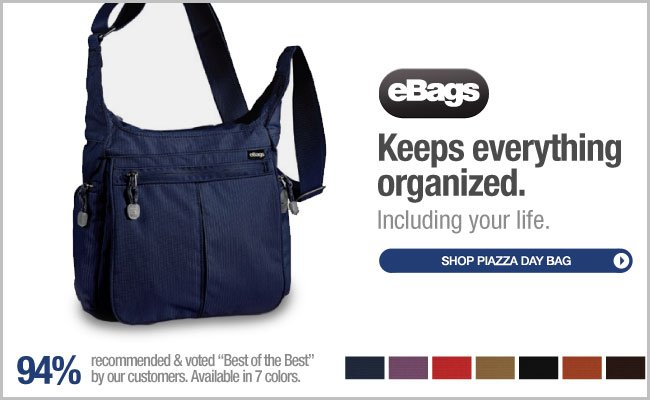 The eBags Brand Piazza Day Bag - Shop Now