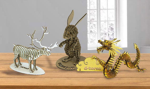 D-Torso 3-D Figurines - Visit Event