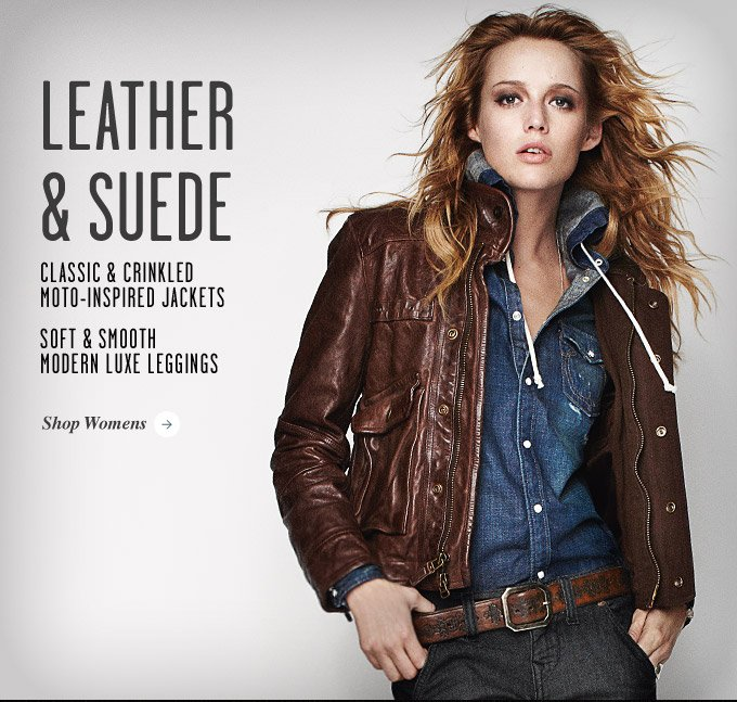 Leather & Suede: From Modern Luxe To Classic Moto Inspiration