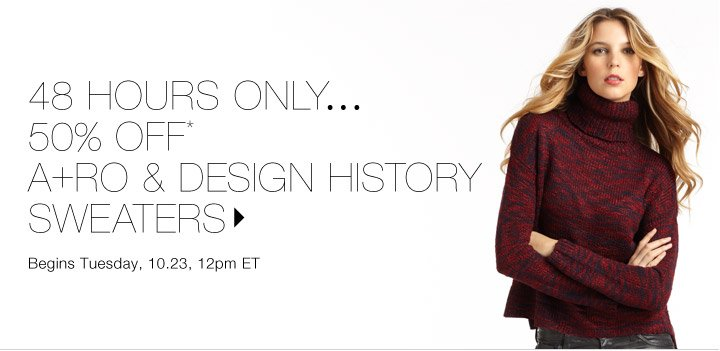 50% Off* A+RO & Design History…Shop now