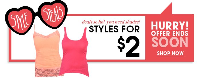 Shop Style Steals