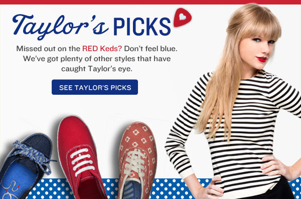 Taylor's Picks.