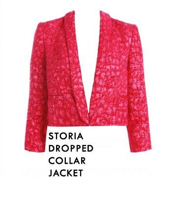 Storia Dropped Collar Jacket