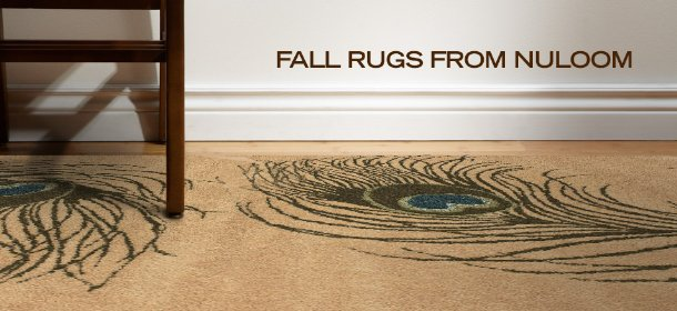 FALL RUGS FROM NULOOM