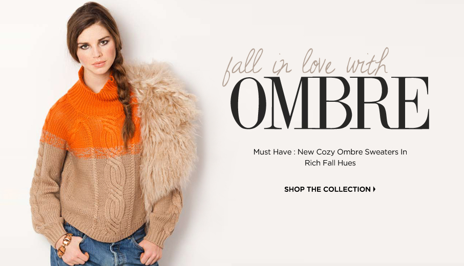 Fall In Love With Ombre