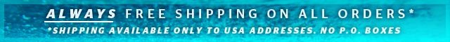 shop.ripcurl.com - Always Free Shipping on All Orders - Shipping Available Only to USA Addresses Only. No PO Boxes.