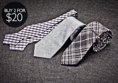 Shop Ties, Bow Ties, & Pocket Squares