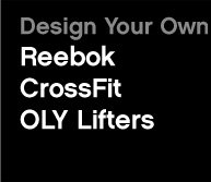 Design Your Own Reebok CrossFit OLY Lifters