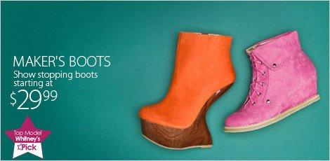 Maker's boots